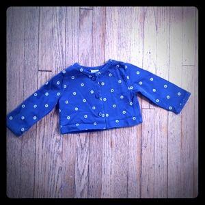 Carter's Blue Button-up Shirt - 6 Month Size